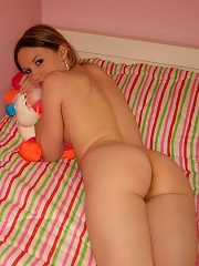 Lovable Kitty in Me so horny panties