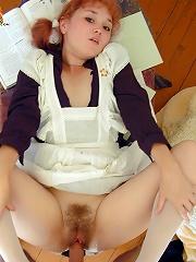 Horny school-girl fucking