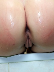 Using a shower head