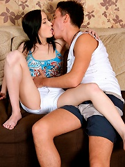Nubiles.net Anesha - Hot Nubile Anesha fucked hard and rewarded with a cum explosion in her mouth