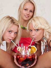 Marvelous teen girls